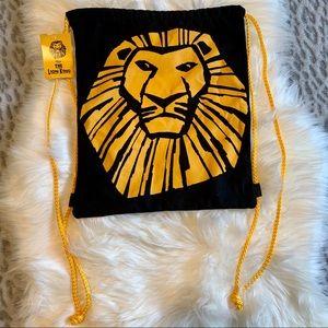 Disney's Lion King VIP drawstring cinch bag